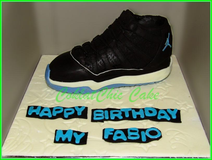 Cake Nike Air Jordan - FABIO 18cm