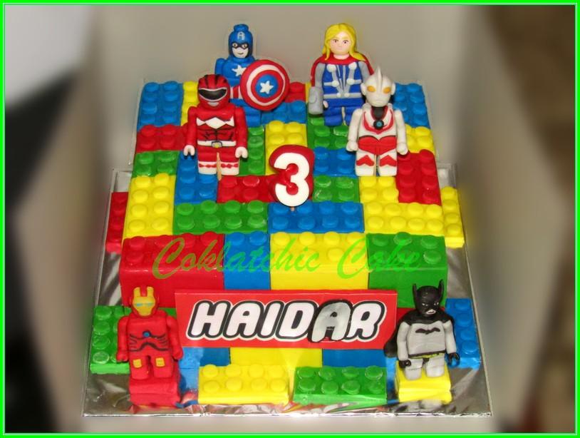 Cake Lego Superhero HAIDAR 20cm