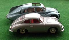 Tatra T87 & Porsche 356