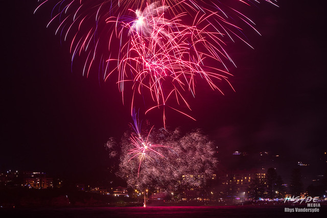 Terrigal NYE Fireworks - NSW, Australia
