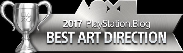 PlayStation Blog Game of the Year 2017 - Best Art Direction (Silver)