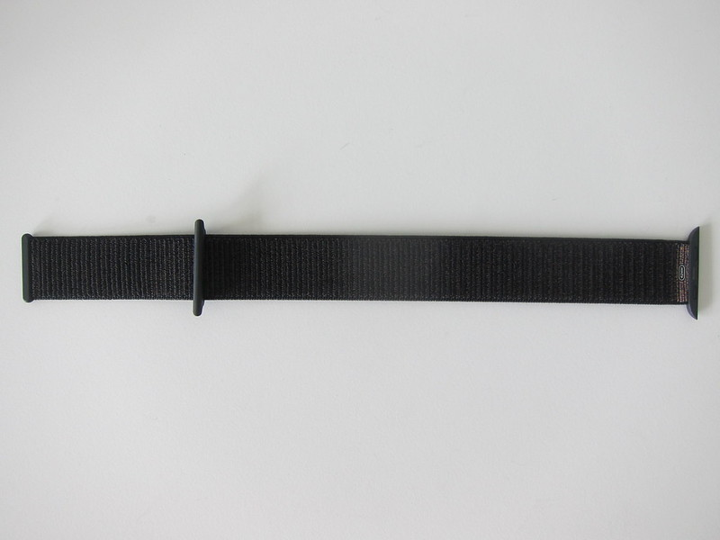 Apple Watch 42mm Black Sport Loop - Front