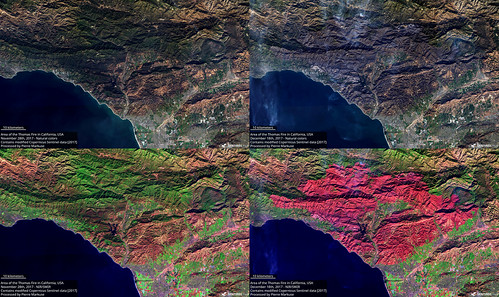Thomas_Fire_Area_Comparison_Nov_28_Dec_18_S2_nat_NIRSWIR_crop_40 | by Pierre Markuse