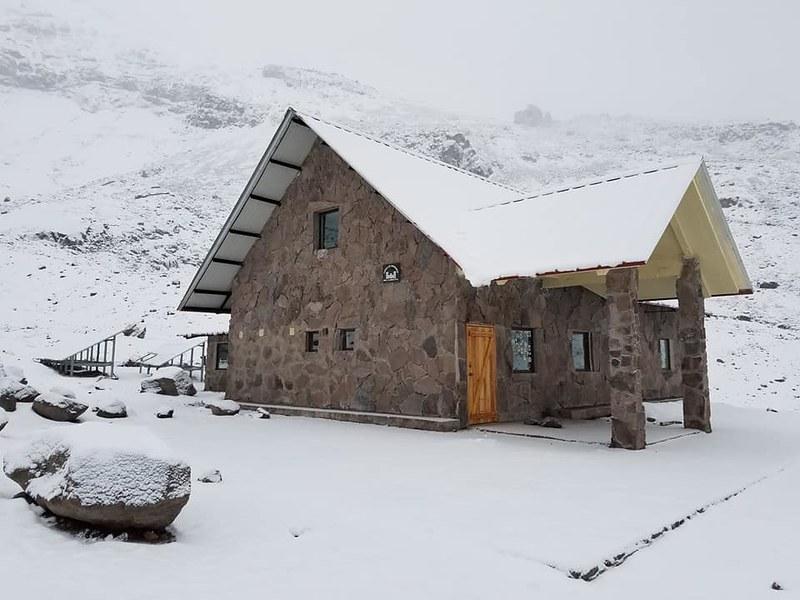 Chimborazo • Whymper Hut