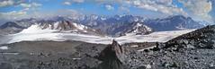 Caucasus Panorama, Elbrus 4200m.