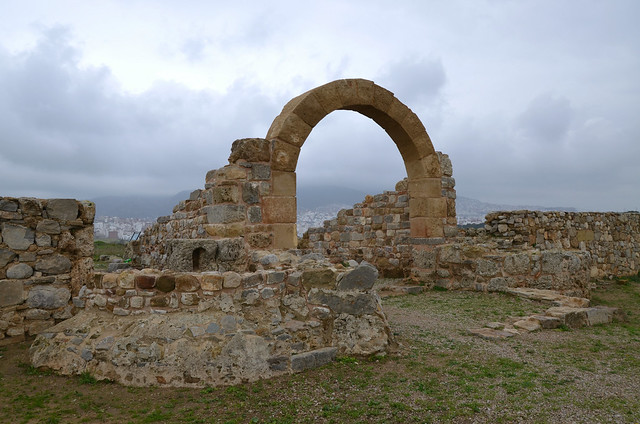Roman military camp of Tamuda, Morocco