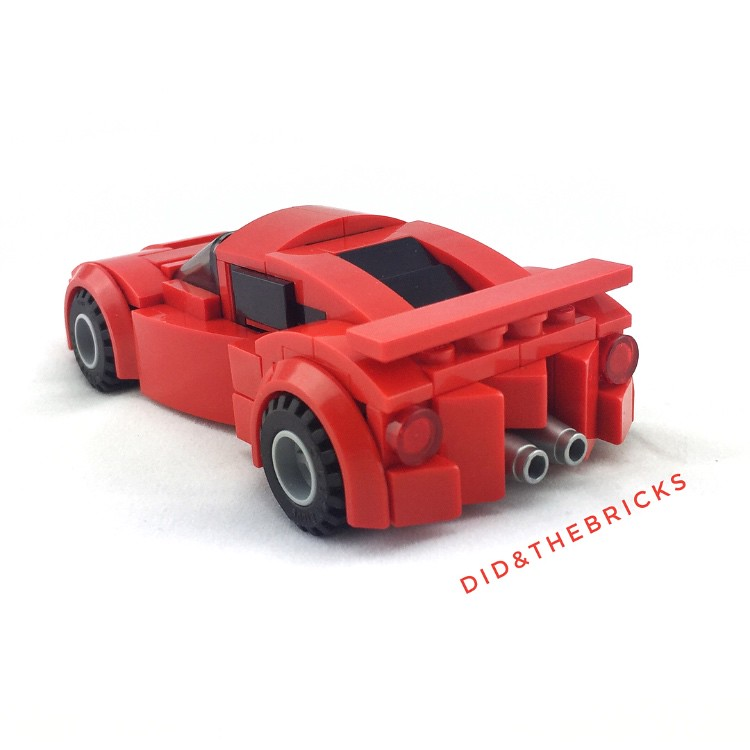 Red roadster