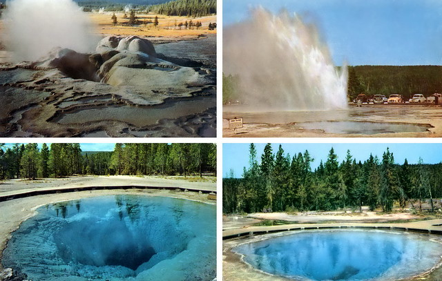Yellowstone Postcards: things you can't see now