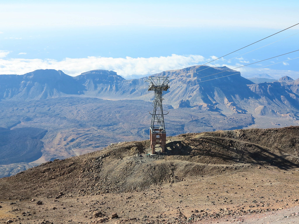 Ride on Tenerife cable car