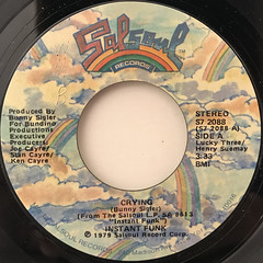INSTANT FUNK:CRYING(LABEL SIDE-A)