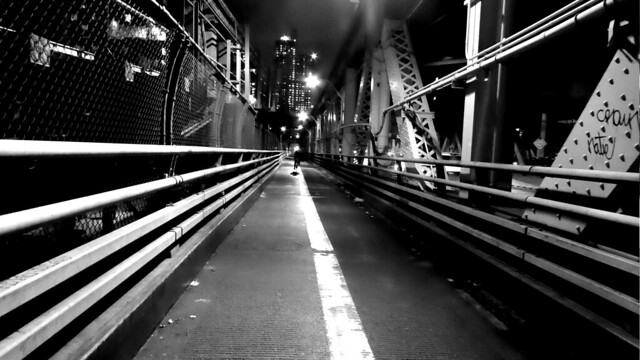 Queensboro Bridge B&W 7