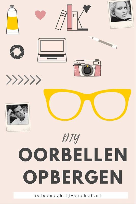 DIY Oorbellen opbergen