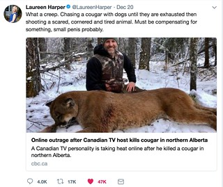 Laureen Harper's tweet