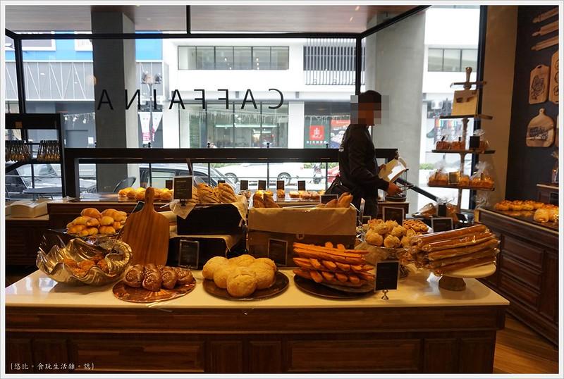 卡啡那CAFFAINA 大墩店-24-麵包區