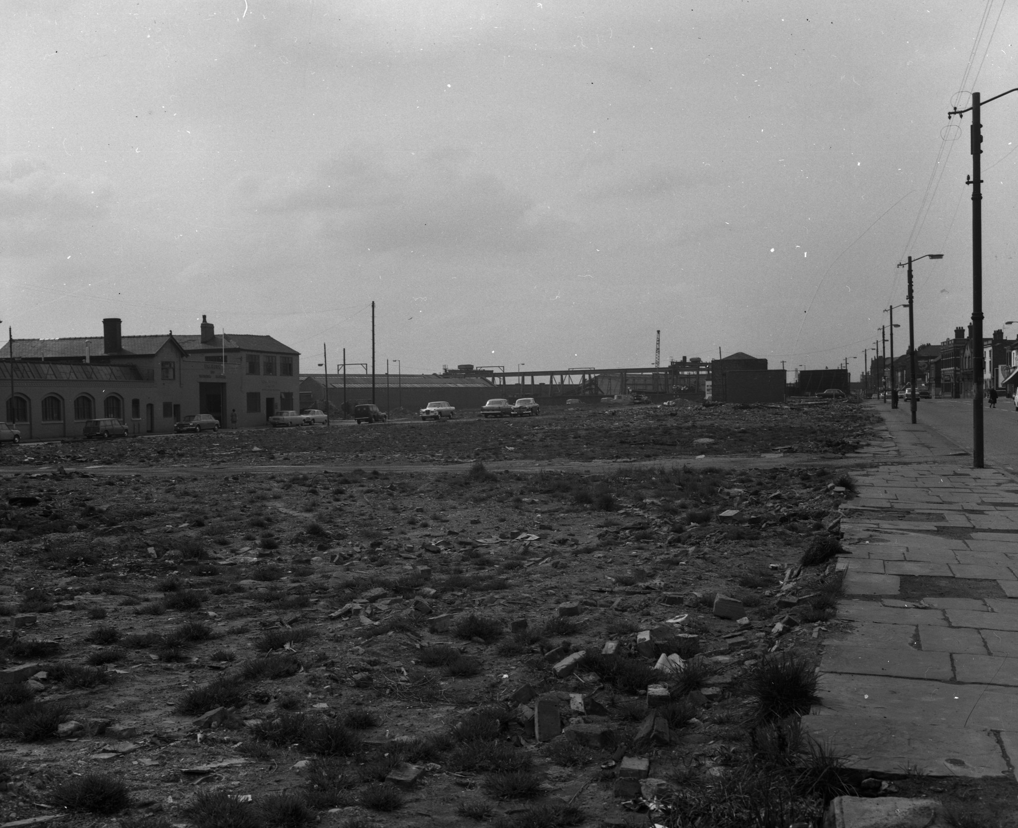 Negative No: 1968-0867 - Negatives Book Entry: 18-04-1968_Estates_Wythenshawe-Airport Etc_Various Sites