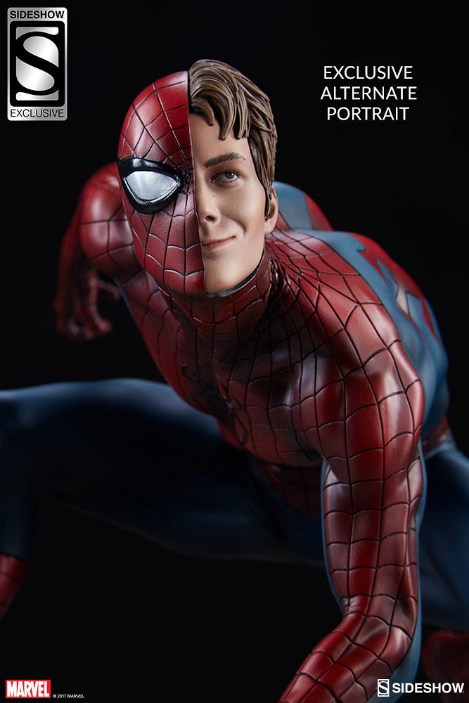 最讚的友善好鄰居~ Sideshow Collectibles 蜘蛛宇宙系列【蜘蛛人】Spider-Verse Collection Spider-Man 1/5 比例全身雕像作品