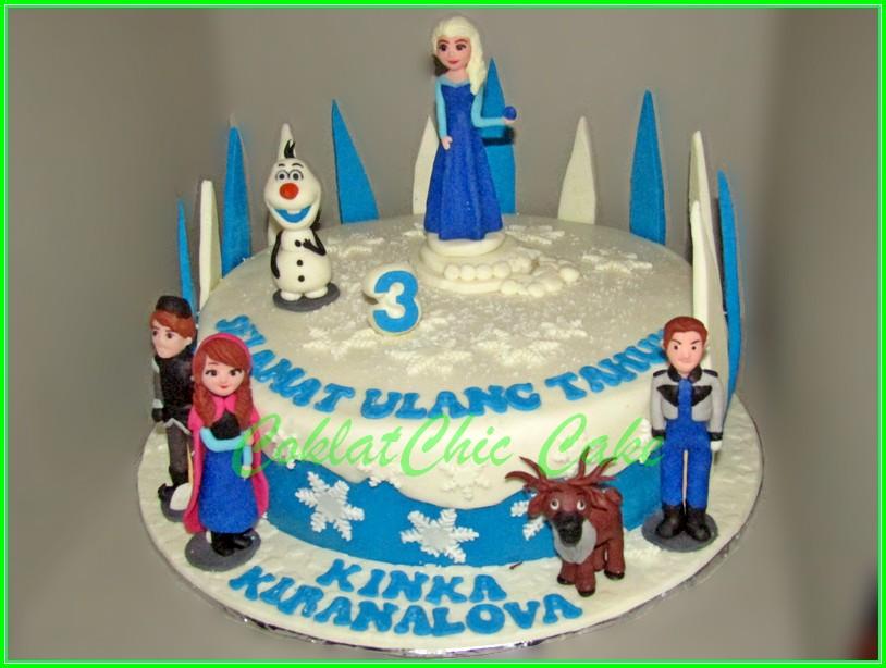 cake disney frozen KINKA 20cm