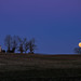 New Year's super moonrise by loco's photos