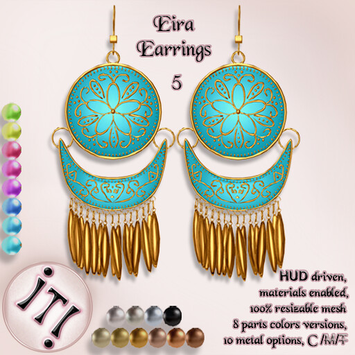 !IT! - Eira Earrings 5 Image - TeleportHub.com Live!