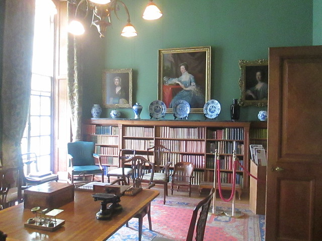 Hill of Tarvit House  library