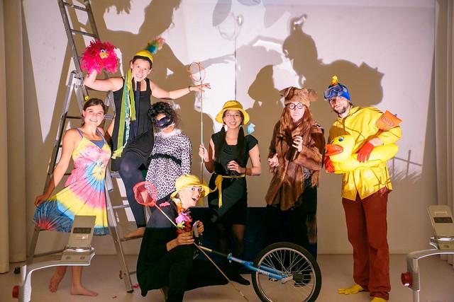 Seit 2016 wird das Orchesterspiel von einem Theaterprojekt begleitet, das die Stipendiatin Mirjam Bauer initiierte.  Foto: JFRcreatives (www.jfrcreatives.com)
