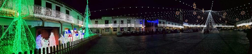 Plaza Mayor de Valdemoro por las navidades