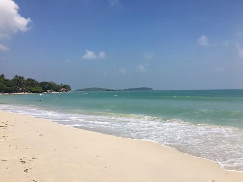 chaweng beach Christmas Eve