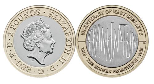2018 Frankenstein coin