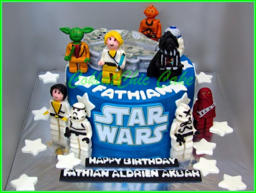cake StarWars FATHIAN 15cm