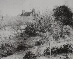 La Maison de l'Anglais, Eragny (C Pissarro - PDRS 1466)