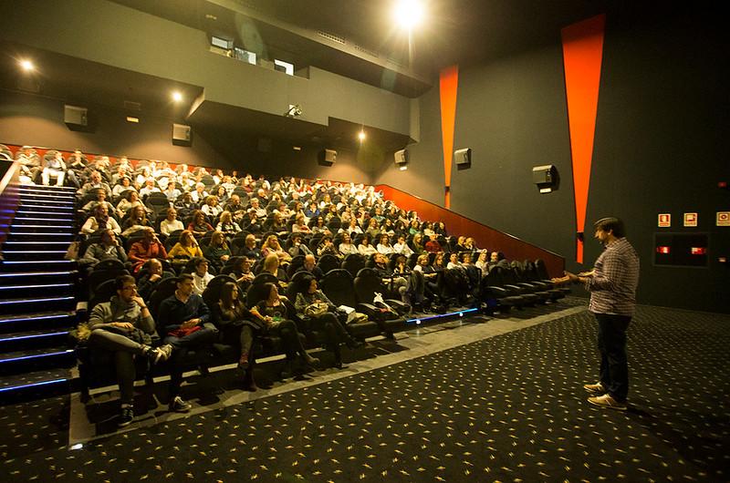 Presentación de 'La otra educación' en Onteniente, Valencia