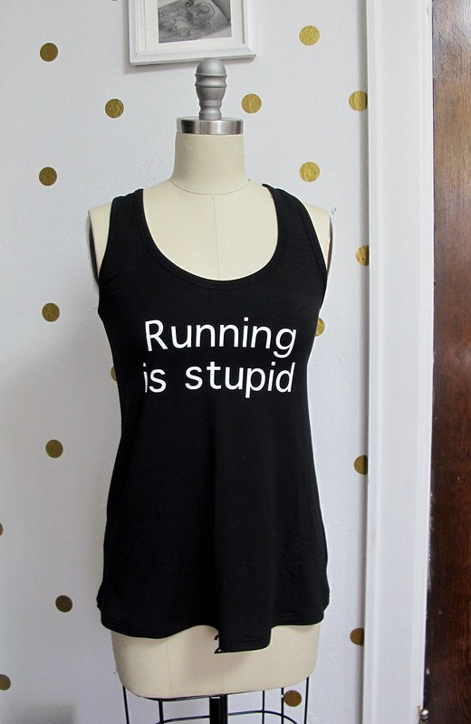 Running is Stupid tank