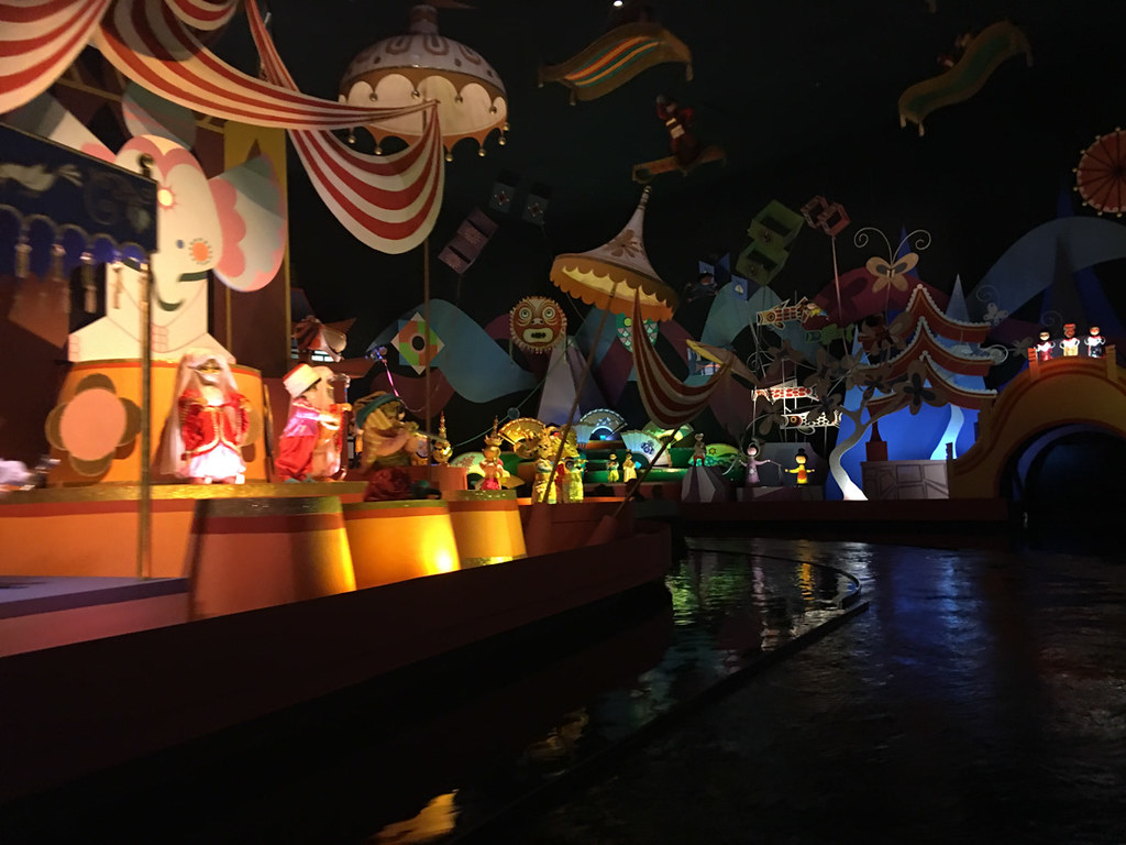 It's a Small World Ride at Magic Kingdom