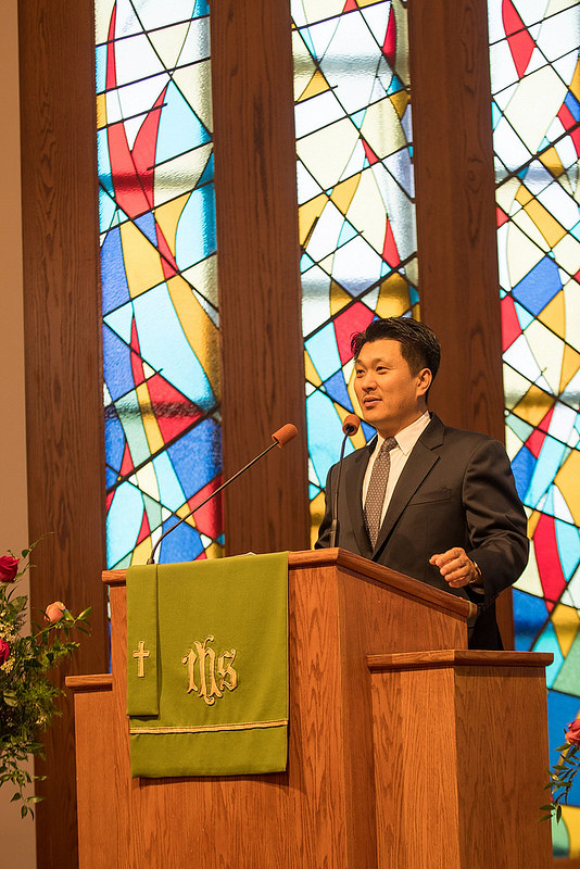 Bishop Cho's retirement celebration service