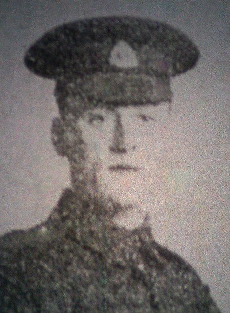 Lance Corporal Raymond Easter Lowestoft Killed in Action 1916