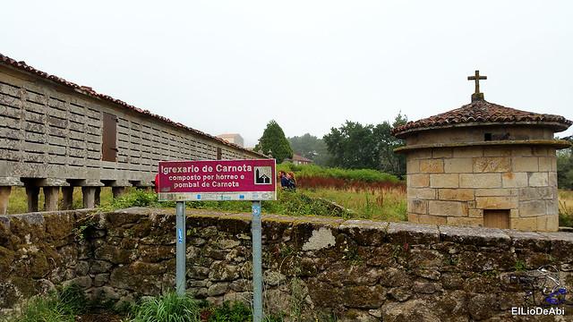 Horreos de Carnota y Lira, los mas grandes de Galicia 4