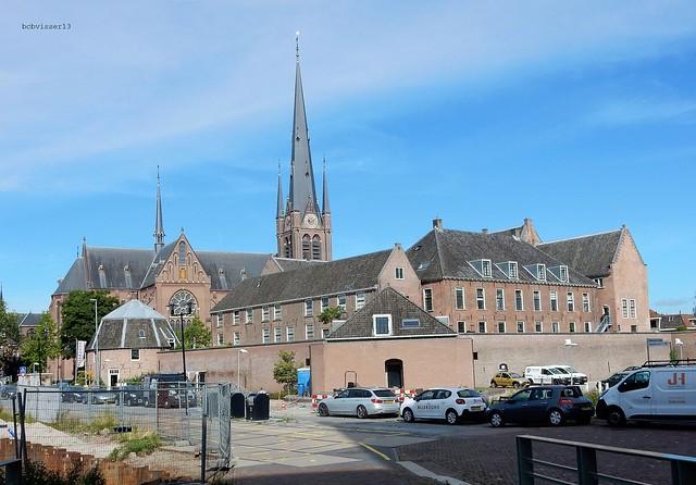 Kasteel van Woerden en de Bonaventurakerk (Woerden)
