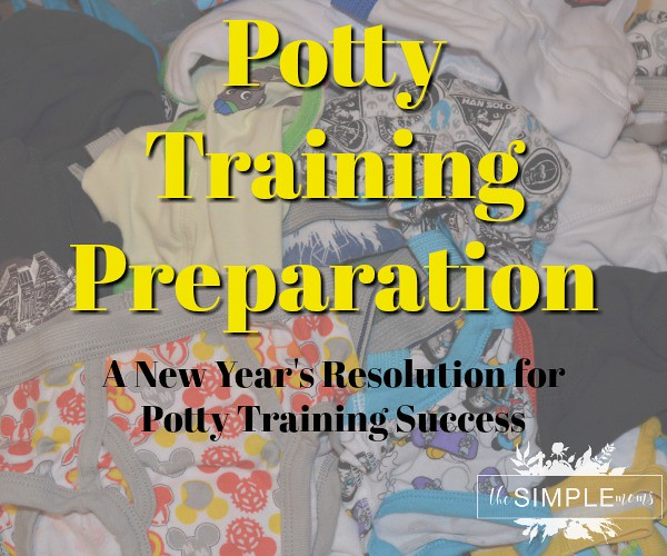 Potty Training Preparation A New Year's Resolution for Potty Training Success on THE SIMPLE MOMS