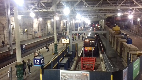 Platform 12 improvement