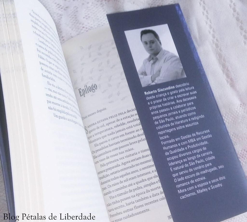 """Resenha: livro """"O lado escuro da madrugada"""", Roberto Giacundino"""