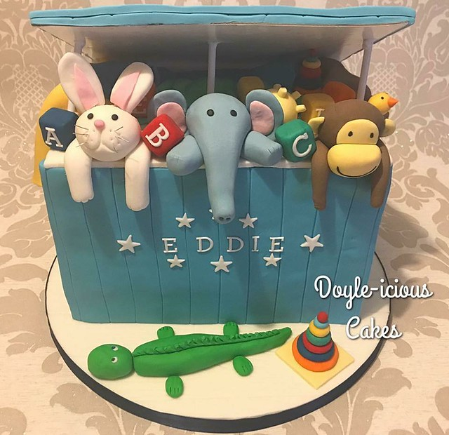 Eddies Toybox by Sarah Doyle of Doyle-icious Cakes