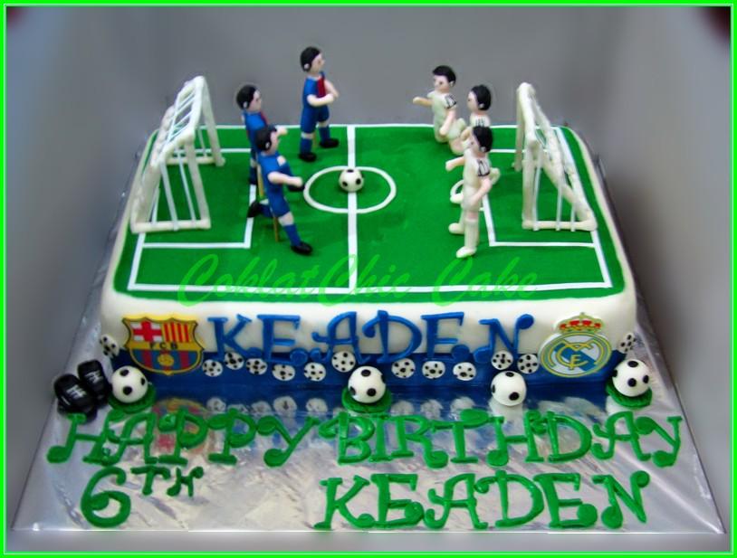 Cake Soccer KEADEN 20x30cm