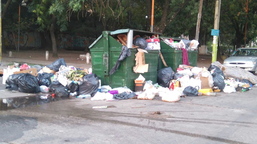 Quilmes recoleccion de basura