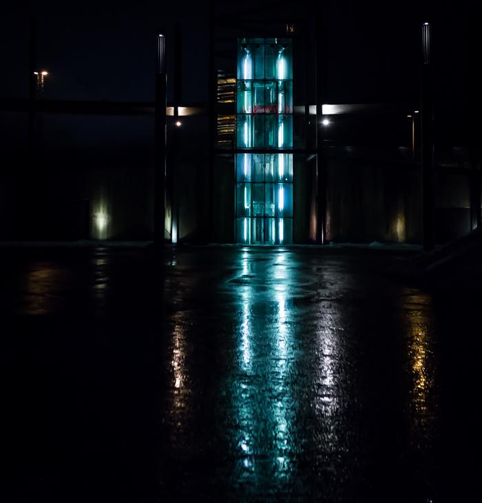 jyväskylä lutakko yökuvaus night photography arkkitehtuuri architecture valaisu