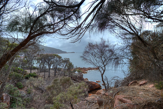 Clouds over Freycinet NP