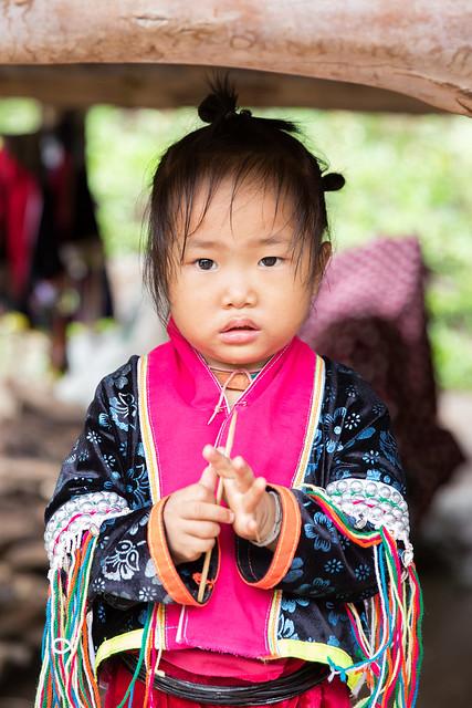 Child in Ban Huay Pa Rai