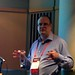 me presenting at UKOUG Tech17 - curtesy of Simon Haslam