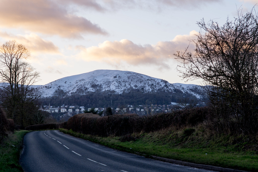 Malverns in the snow