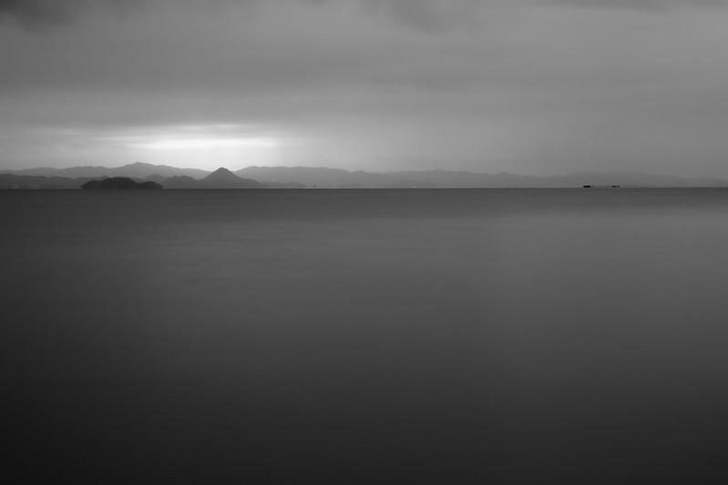 Beyond the lake