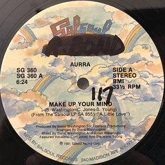 AURRA:MAKE UP YOUR MIND(LABEL SIDE-A)